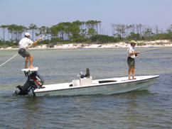 picture of flats skiff