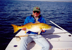 picture of angler with redfish